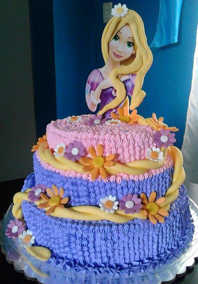 Pastel Rapunzel Mis Pasteles Pastel Rapunsel Pasteles