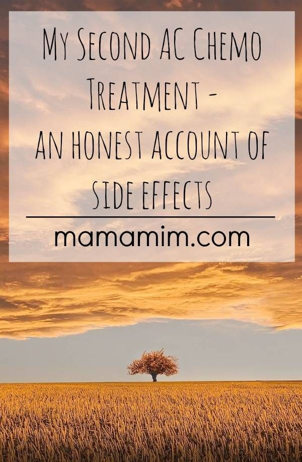 Mama Mim: My second chemotherapy treatment - an honest account
