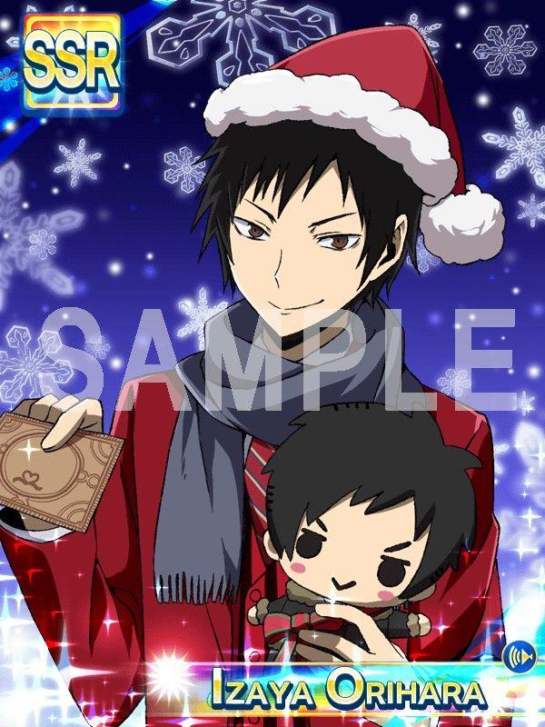 Izaya Orihara Christmas card Izaya orihara, Anime king