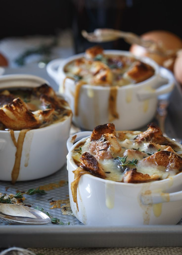 This Irish Stout Onion Soup is a gluten free, cheesy, buttery and hearty meal perfect for celebrating St. Patrick's Day.