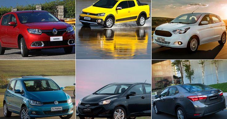 Carros mais vendidos por estado: SP vai de Onix, RJ prefere HB20