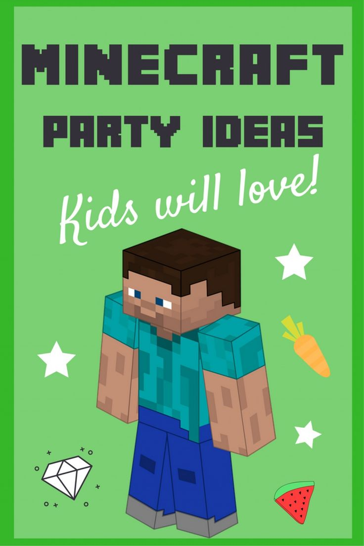 Planning a kids' party? Need inspiration? How about a Minecraft-themed party? I've pulled together lots of fun ideas for Minecraft fans to help you plan the perfect event. Let's party!