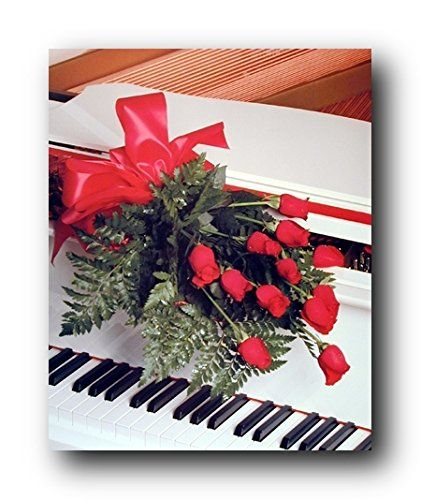 Absolutely Beautiful! Romantic wall posters will help you keep the positive energy for longer, and moreover it will be a perfect romantic gift for a loved one or newlyweds. This lovely wall poster depicts the image of charming bunch of red roses lying on piano is sure to make a perfect romantic decor to your bedroom walls. Your heart will melt every time you look at this poster. This poster delivers a sharp vivid image with a high degree of color accuracy. Order today and enjoy your…