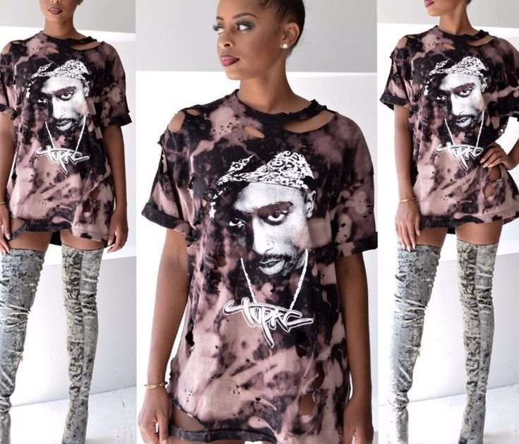 Fashion World By D — Tupac shirt dress