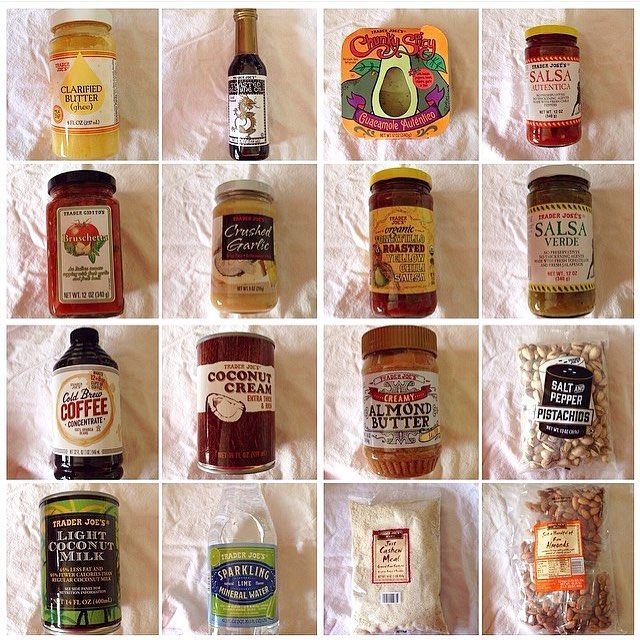 Since I posted some of my Costco shopping list, I thought I'd share a few of my #whole30 faves from Trader Joe's  too the closest one to me is 45 minutes away, so with all the snow we've been getting, I don't know that I'll make it over there in time for my next whole30…but in case you live close to one, put these things on your list! ❤️ #januarywhole30 #traderjoes by allieeatswhole