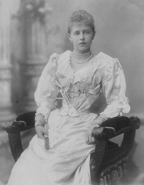 Marie, Crown Princess of Romania.