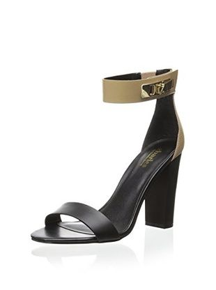 50% OFF Charles by Charles David Women's Jana Dress Sandal (Black/Nude)