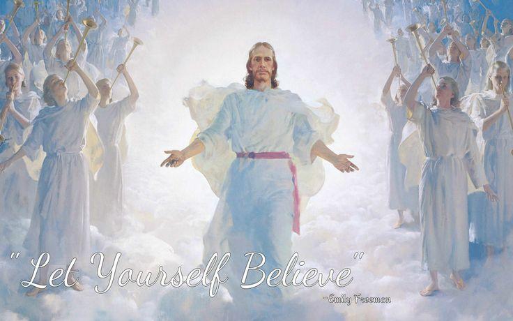 LDS Christ Believe Faith
