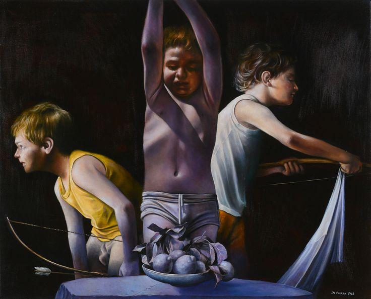 San Sebastiano - olio su tela - cm 80x100 - 2013