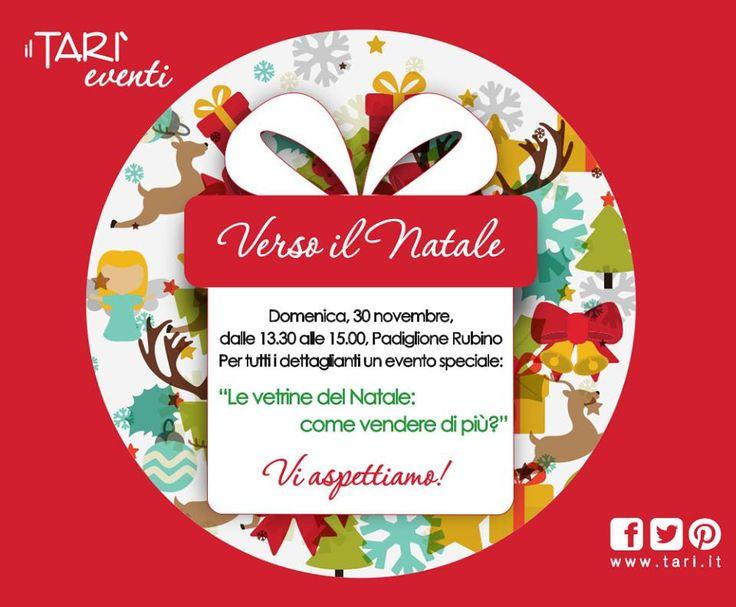 """Domenica 30 novembre sarò a ilTARI' di Marcianise (CE), il centro orafo più grande d'Europa, per presentare """"Le Vetrine di Natale: come vendere di più?"""". Darò nozioni di vetrinistica,scenografia e marketing visivo. Risponderò a tutte le domande e curiosità sull'argomento.Ti aspetto! Per info: laraflammia@gmail.com  Tel. 333.2132343 www.larartcomunication.com"""