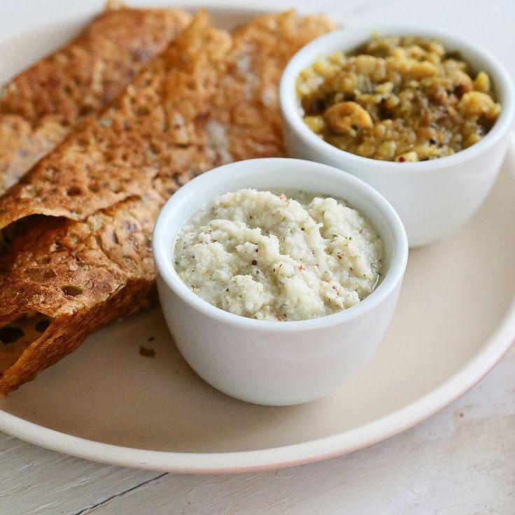 Rava Dosa Crepe & Coconut Chutney Mix in a Jar. Vegan Recipe   Vegan Richa