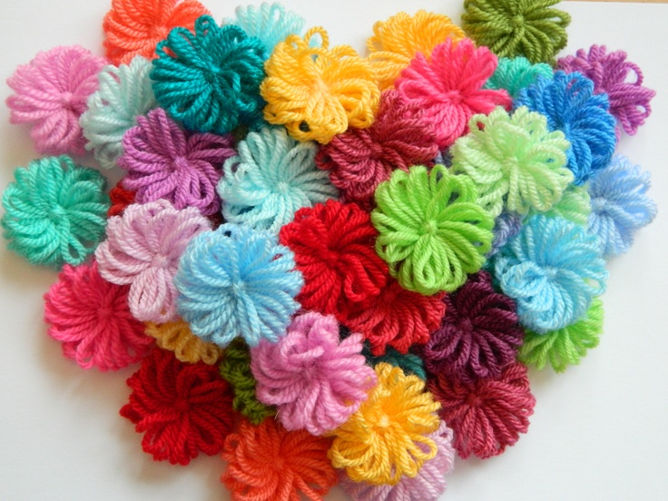 Knitting Flowers On A Loom : Best images about flower loom on pinterest gift tags