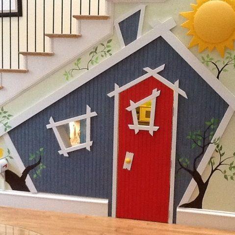 Indoor Children's Playhouse -  J Campbell Interiors