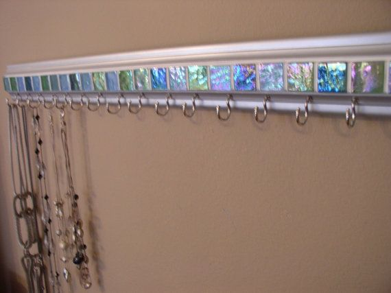 Jewelry organizer .This necklace holder  in by gotahanguptoo, $39.50