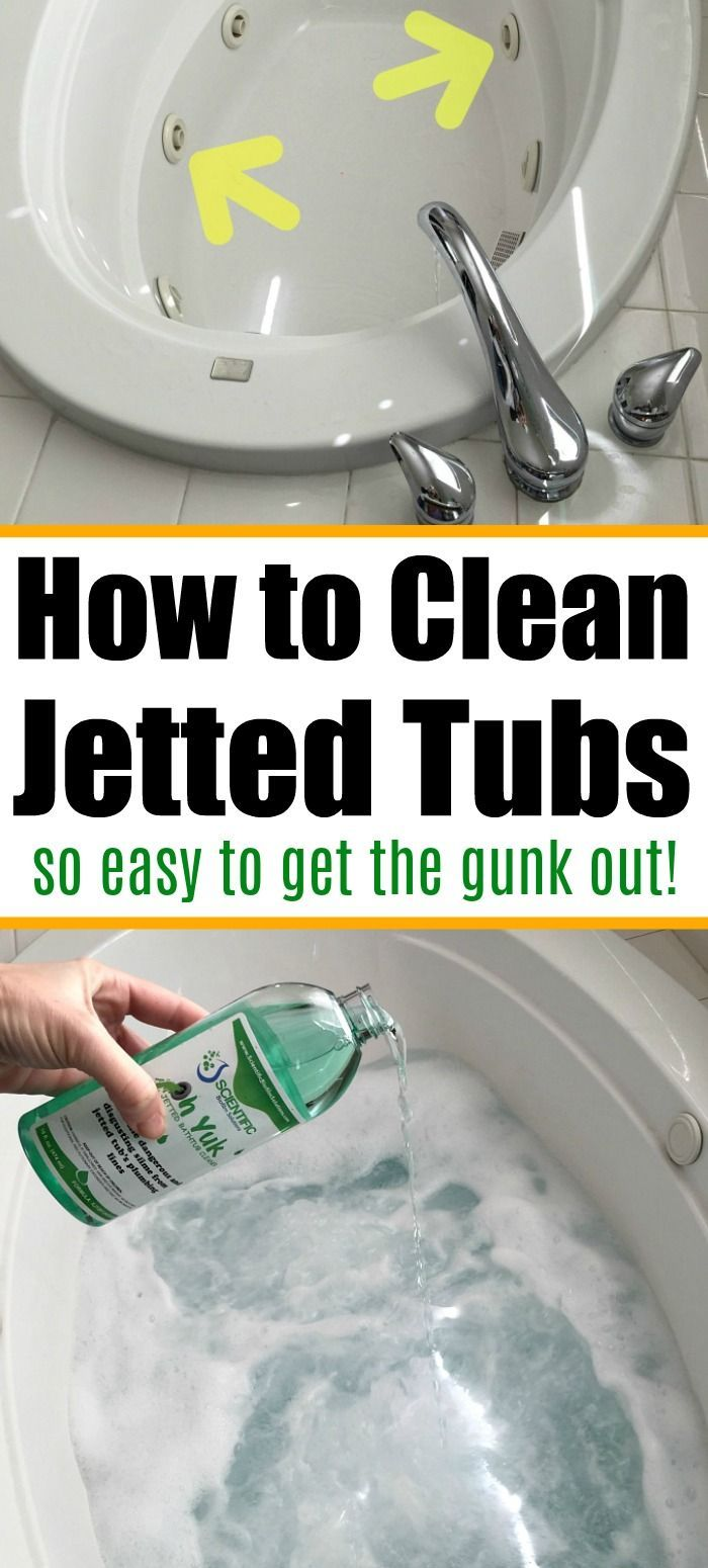 If You Ve Never Cleaned Your Jetted Tub Look At This