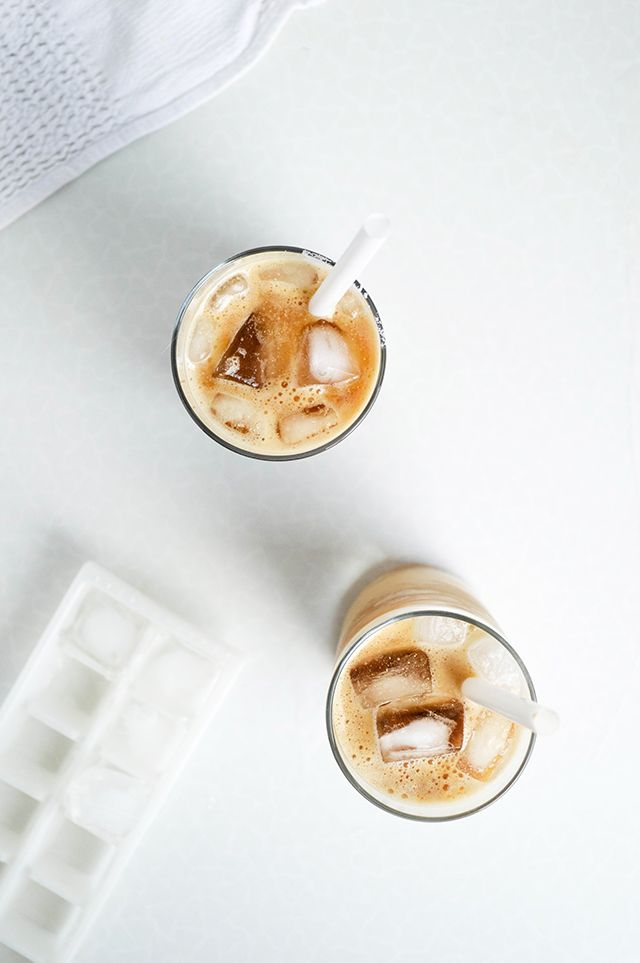 macadamia iced coffee vanilla syrup