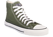 ethletic runners, eco friendly converse style! step it out in green!