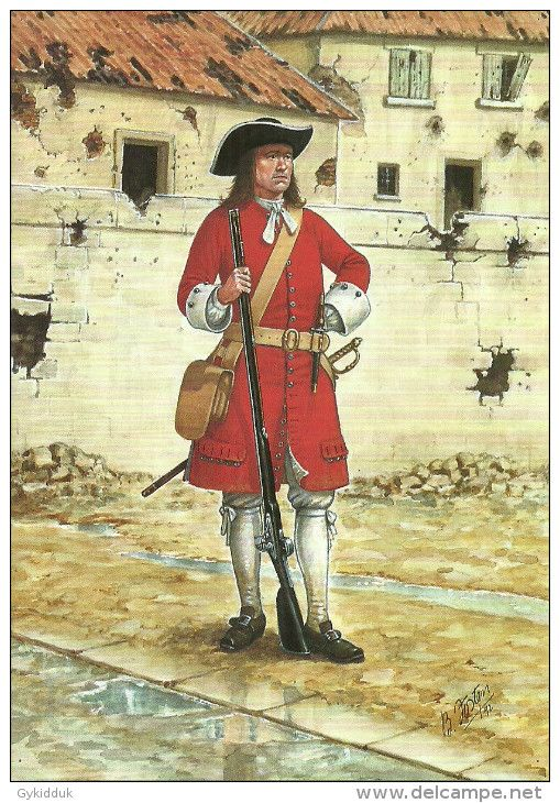 British; 3rd Guards in Flanders 1695 by B.Fosten(Scots Guards)
