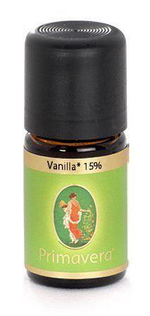 Vanilla Oil 15% 5mL (organic) by Primavera