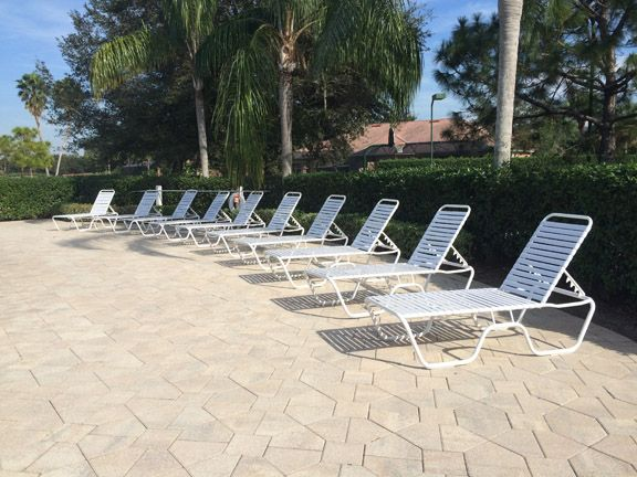 Superior Our Country Club Chaises Around The Pool At The Club At The Strand. American  Made · Outdoor Pool FurnitureOur ...