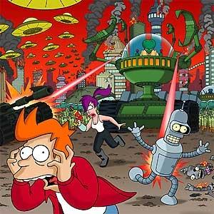 Futurama - Morbo Attacks - 20th Century Fox - World-Wide-Art.com - $450.00 #Futurama