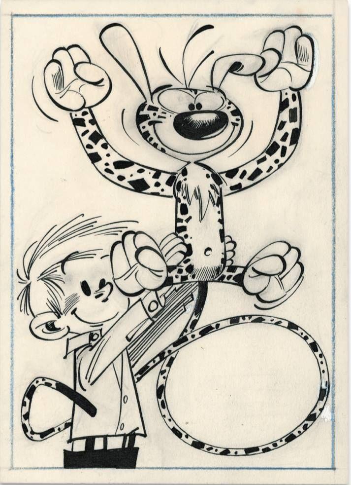 Franquin - Marsupilami en latex