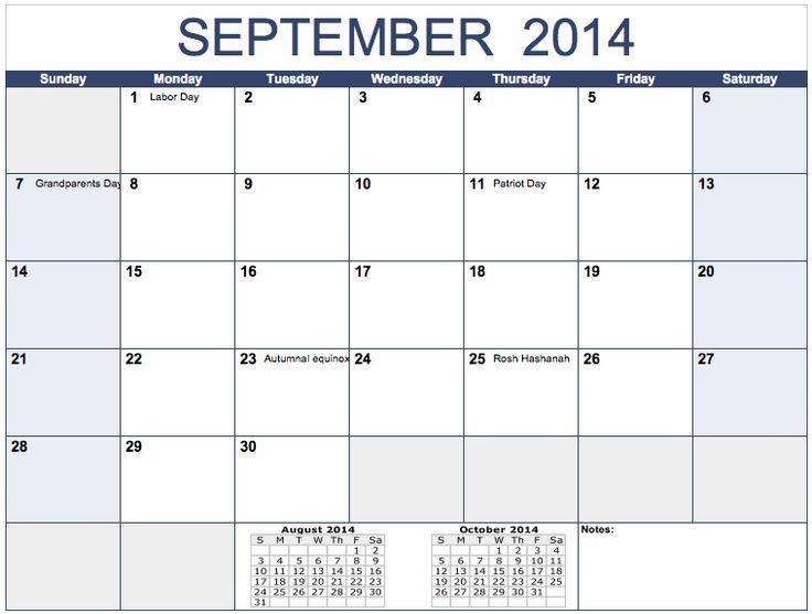 Blank Horizontal Calendar : Images about calendar templates on pinterest