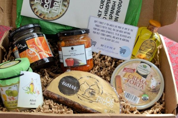 Lavender and Lovage | Giveaway: Win one of THREE Spanish Food Hampers (RRP:£30) | http://www.lavenderandlovage.com