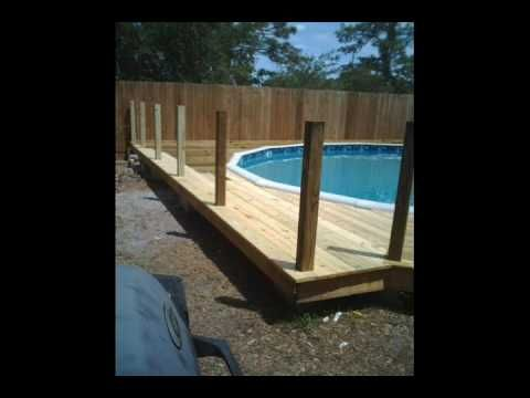 """This is the second video for  """"How to bury an above ground pool"""". Took me a few years to finish this project, but well worth it."""