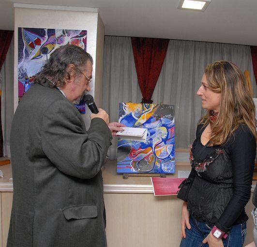 La mostra a Roma dell'artista irpina Ines De Leucio
