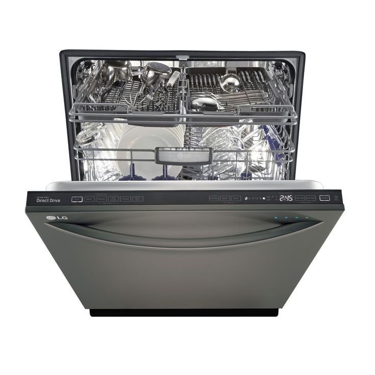 #LimitlessDesign and #Contest    Shop LG 42-Decibel Built-In Dishwasher (Black Stainless) (Common: 24-in; Actual: 23.75-in) ENERGY STAR at Lowes.com