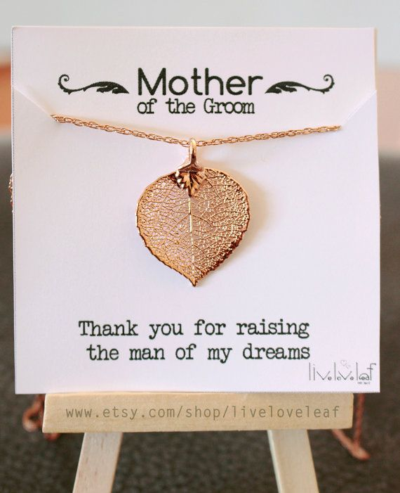 Mother of the Groom Necklace Gift idea https://www.etsy.com/listing/203205145/mother-of-the-bride-groom-wedding
