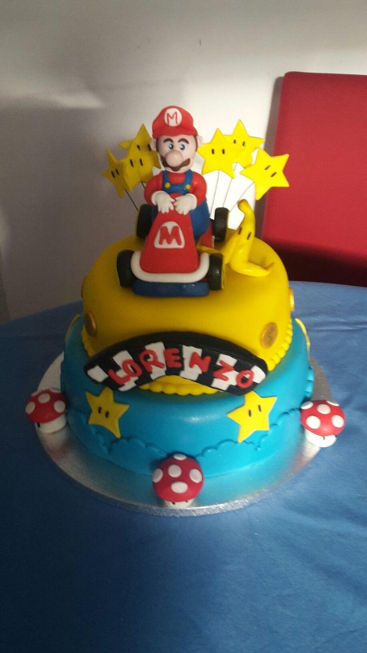My Mario Bros Kart cake ❤