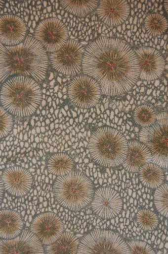 VINTAGE SILK KIMONO FABRIC:Dynamic Pine Tree Needle#45R. This is not ceramic; however, it is a good design to consider for some pot, depending on the form.