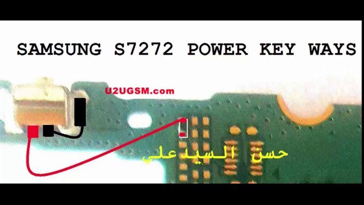 Samsung Galaxy Ace 3 Power On Off Key Button Switch Jumper Ways