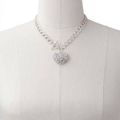 .: Crystals Heart, Simulator Crystals, Pendants 18 00, Fashion Jewelry Necklaces, Candy Silver, Heart Pendants
