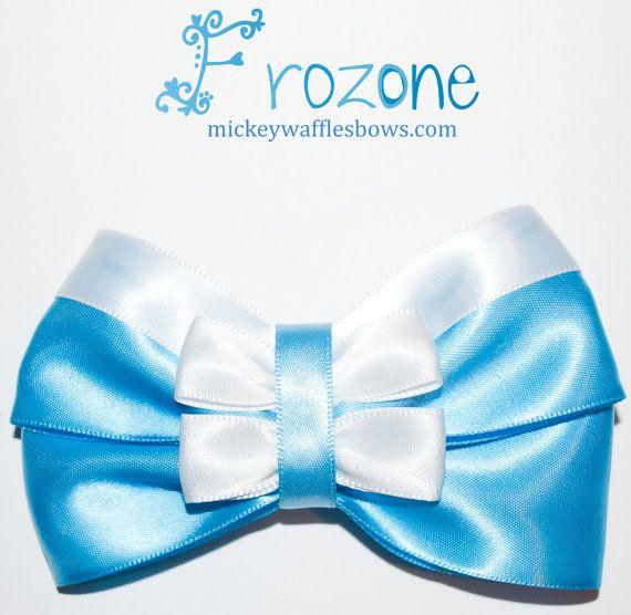 Frozone Hair Bow