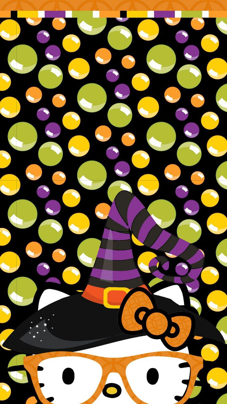 iPhone Wall: Halloween tjn | Hello Kitty Wallpaper