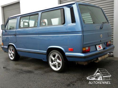 vw vanagon | 1989 VW Wolfsburg Vanagon 3.6 Carrera Rear Quarter