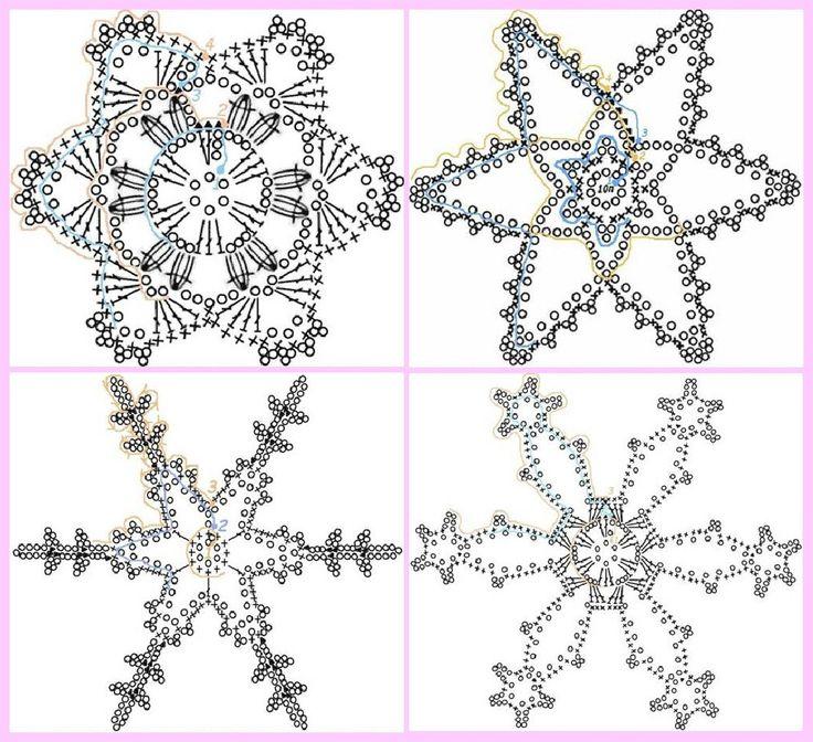 Fabuleux Oltre 25 idee originali per Fiocchi di neve all'uncinetto su  CS67