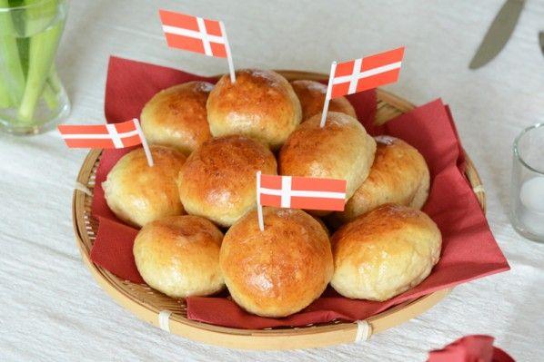 De bedste fødselsdagsboller //// Perfect dinner rolls