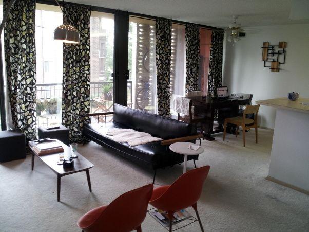 9 best mid century modern window treatment ideas images on - Modern window treatments for living room ...