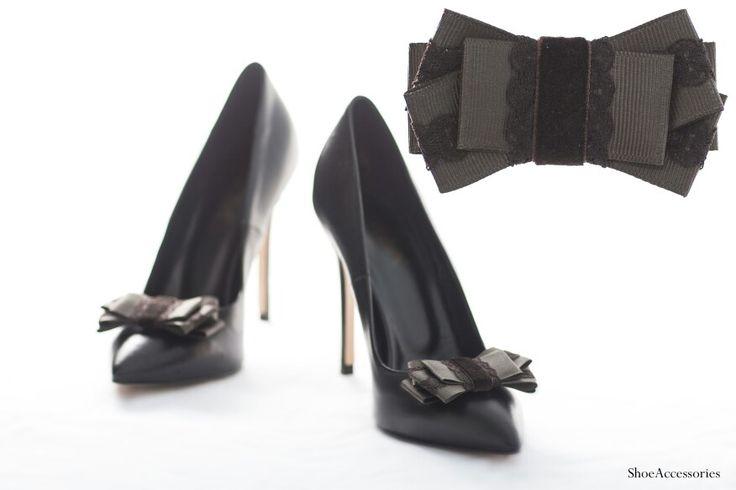 Украшения для обуви  #shoeaccessories #shoeclips #handmade #bows
