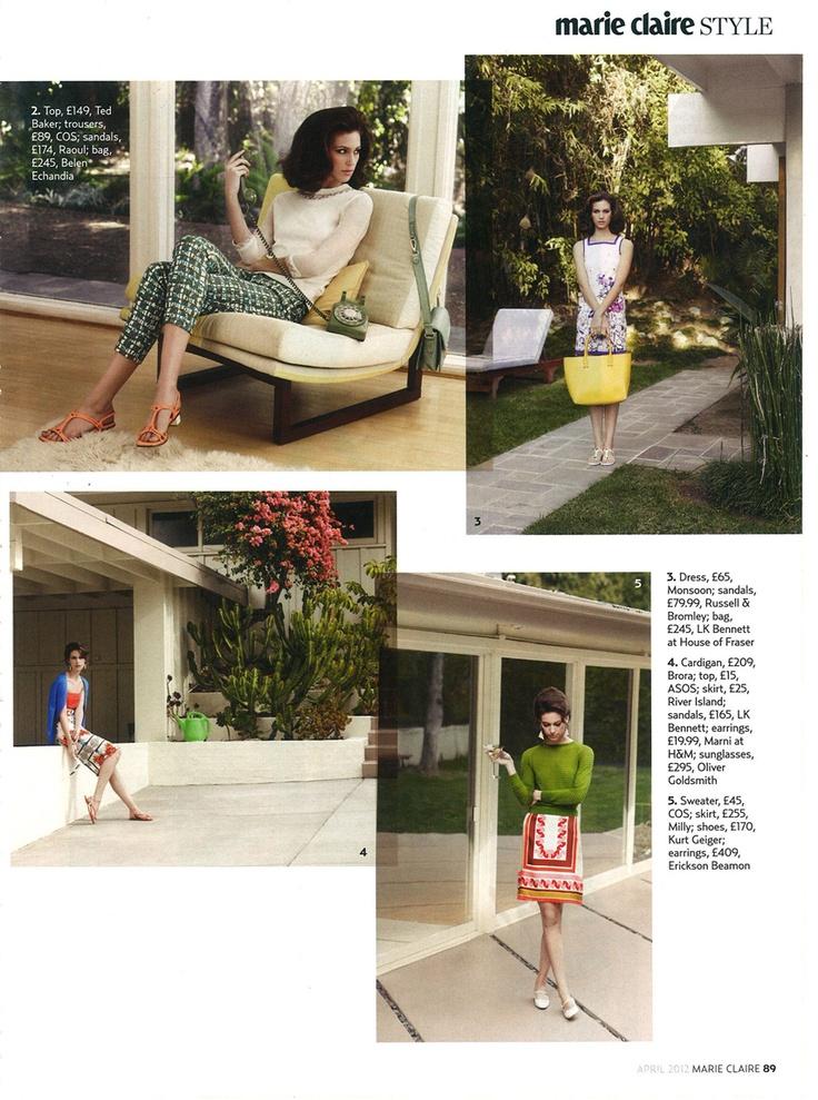 Marie Claire UK features Belen Echandia's Florence bag