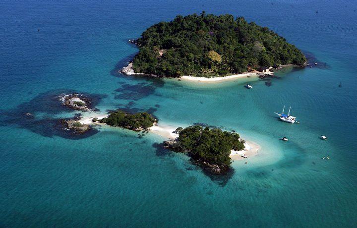 Cataguases and Peregrino Islands -  Angra dos Reis, RJ