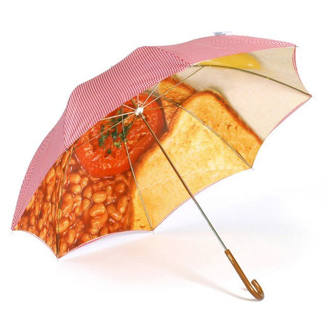 Full English UmbrellaEnglish Food, Breakfast Brolly, English Breakfast, Art Umbrellas, Breakfast Food, Food Umbrellas, Comforters Food, London Undercover, Breakfast Umbrellas