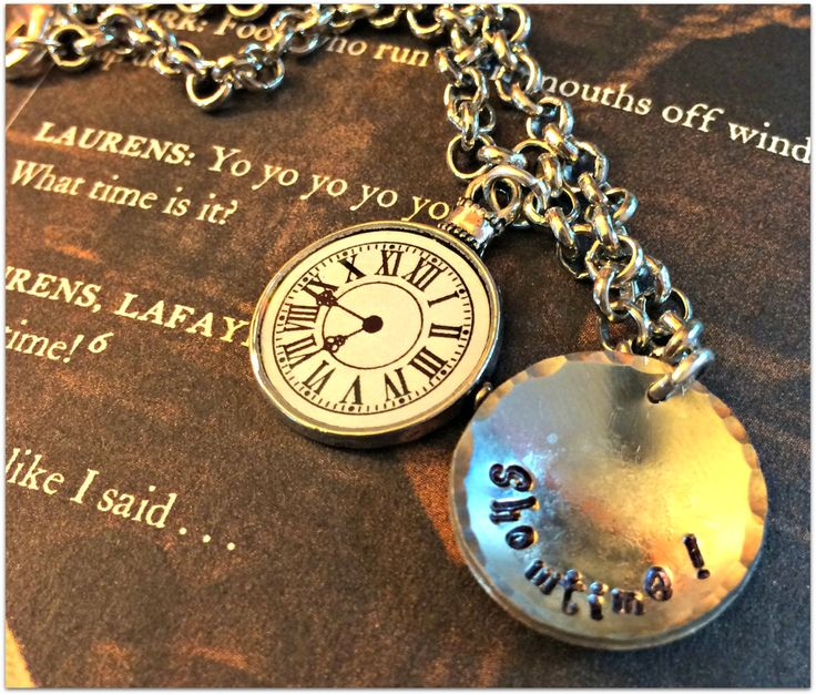 Showtime: Hamilton Bracelet by NerdyByNatureDesigns on Etsy