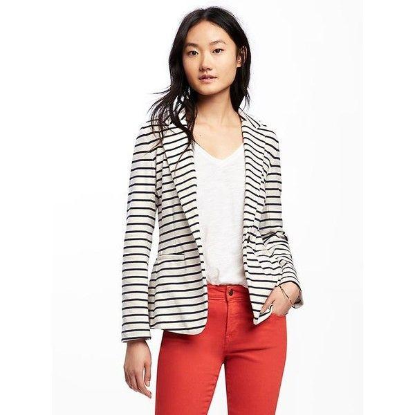 Best 25  Knit blazer ideas on Pinterest   Neutral long sleeve tops ...