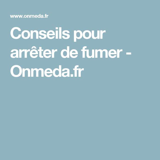Conseils pour arrêter de fumer - Onmeda.fr