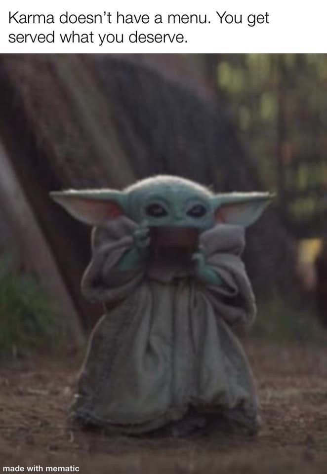 Pin By Dory Redman On Bb Yoda Yoda Wallpaper Yoda Meme Star Wars Memes